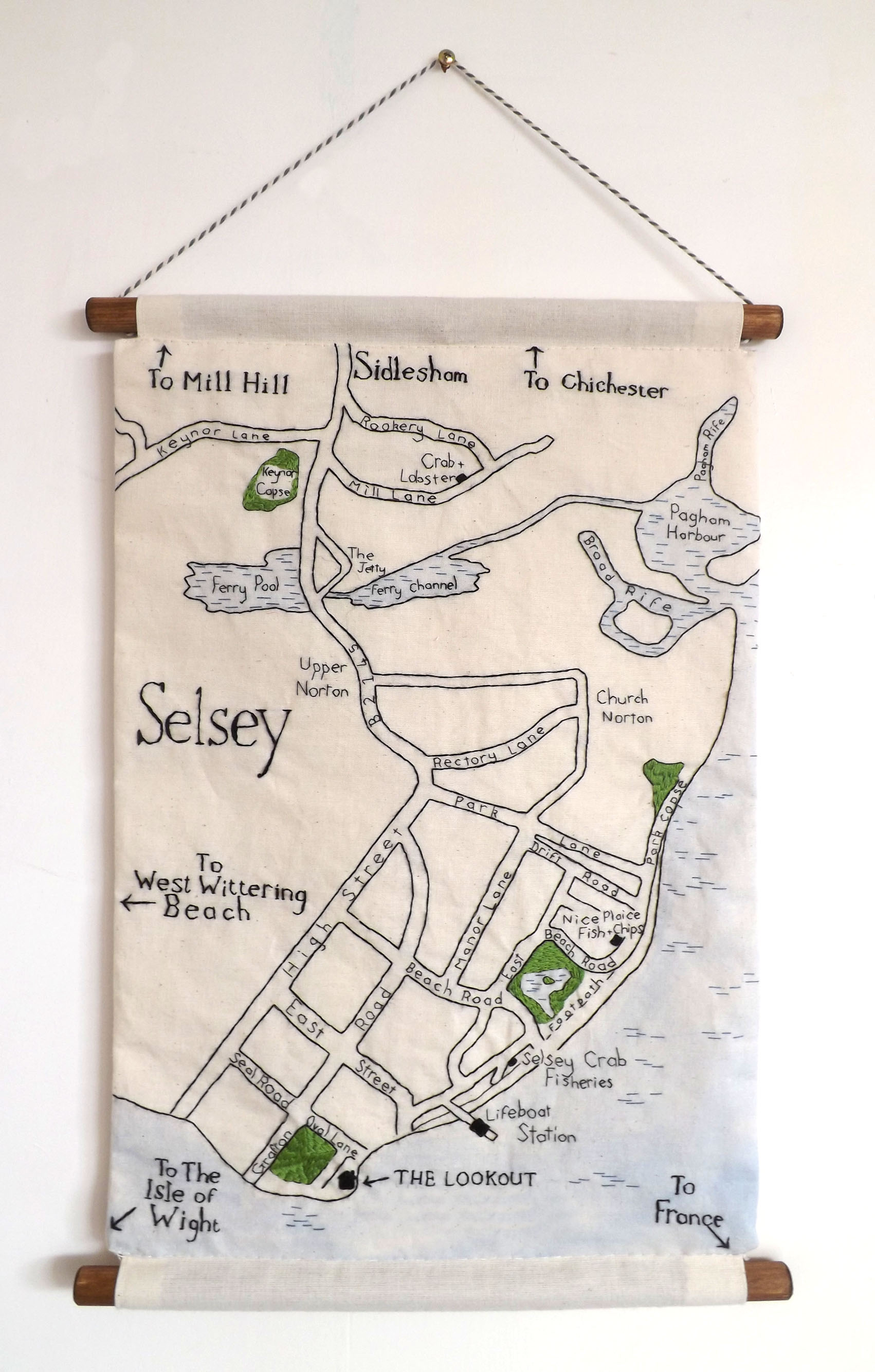 Selsey A3 Wall Hanging