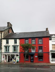 Machynlleth in the rain